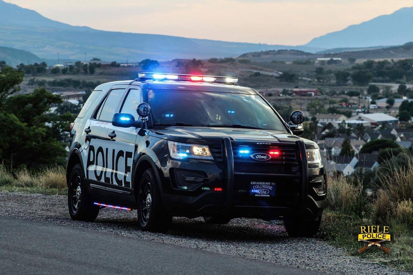 Rifle Police Patrol Vehicle