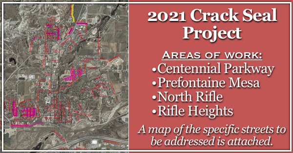 2021 Crack Seal Project